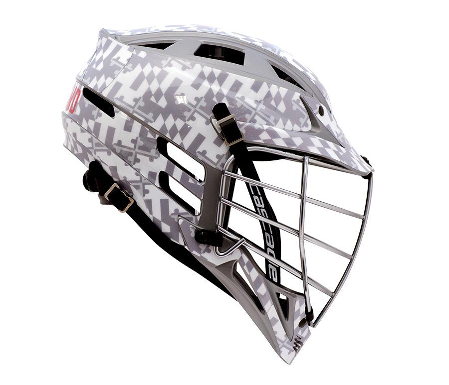 Ghost Of Maryland HeadWrapz Decal HeadWrapz - Lacrosse helmet decals