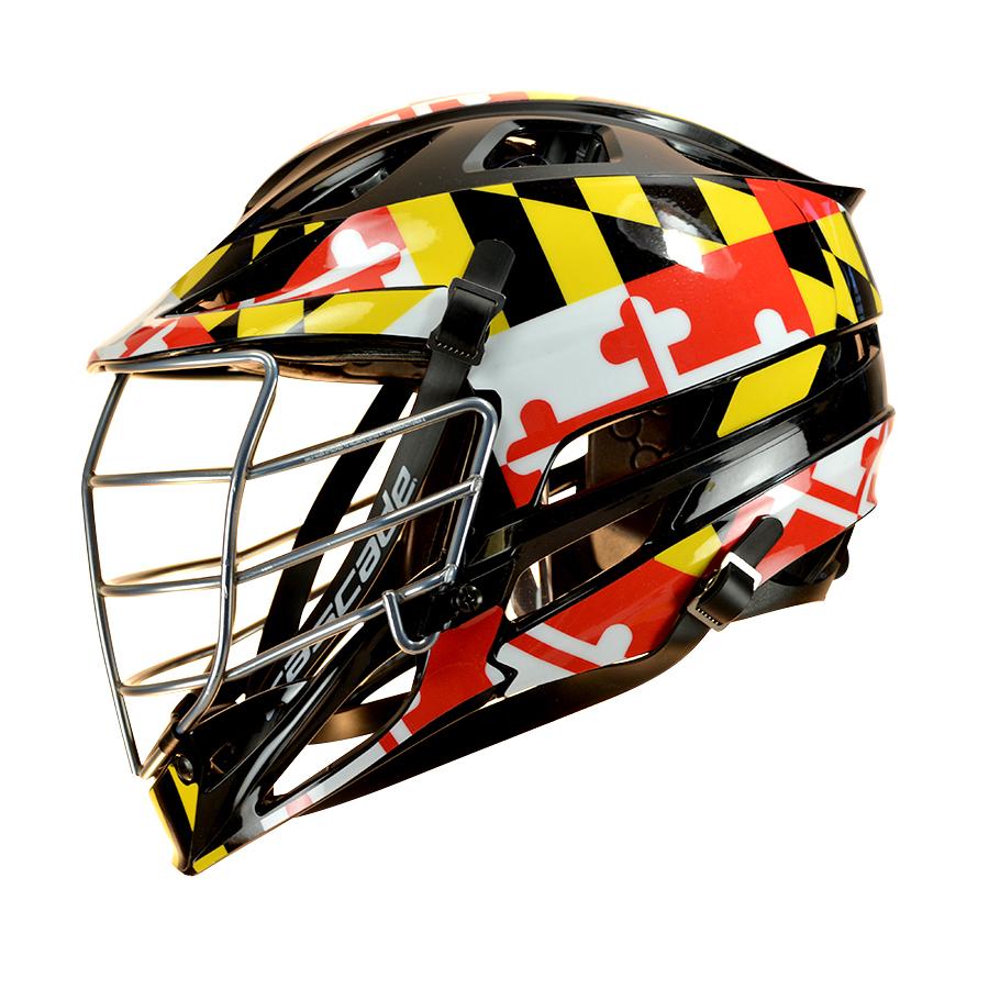 Maryland Flag HeadWrapz Decals HeadWrapz - Lacrosse helmet decals